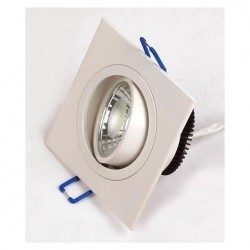 Ugradna LED lampa četvrtasta HL6701 5W ADRIANA-5 6400K
