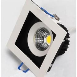 Ugradna LED lampa četvrtasta 8W HL6721L SABRINA-8 6400K