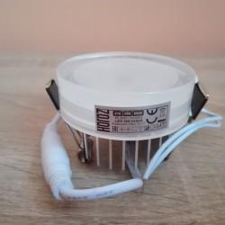 Ugradna LED lampa 5W VALERIA 4200K