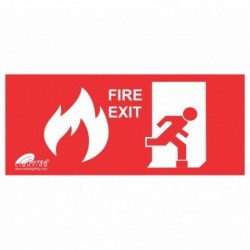 Nalepnica EXIT FIRE