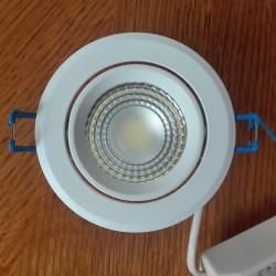 Ugradna LED lampa okrugla 3W HL698L MELISA-3 2700K bela