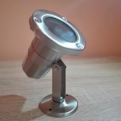 Baštenska stubna lampa 1xGU5,3 M860 IP65 mat hrom