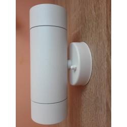 Baštenska zidna lampa 2xGU10 M950012 bela