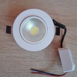 Ugradna LED lampa LILYA-5 okrugla 5W HL699LE 6400K bela