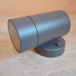 Baštenska zidna lampa 1xGU10 M951010 antracit siva