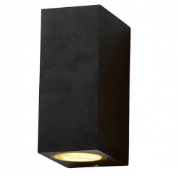Baštenska zidna lampa WL7440 crna