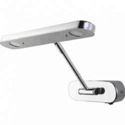 Zidna LED lampa za slike Lori-6 6W 4200K hrom sa prekidačem