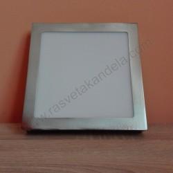 LED nadgradni panel 18W četvrtast M18NK-SN 4000K