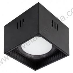 Nadgradna LED svetiljka Sandra-SQ 15W XL crna