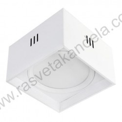 Nadgradna LED svetiljka Sandra-SQ 15W XL bela