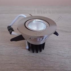 Ugradna LED lampa okrugla 3W HL6731L SARA 6400K mat hrom