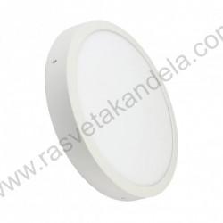 LED panel MPL3030 36W Ø400xH35mm 6500K beli