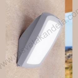 Baštenska spoljna lampa Fumagalli GERMANA siva