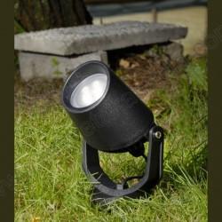 Baštenska ubodna lampa Fumagalli MINITOMMY EL crna