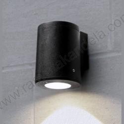 Baštenska zidna lampa Fumagali FRANCA 90 1L crna