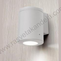 Baštenska zidna lampa Fumagali FRANCA 90 1L siva