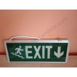 Panik lampa LED HL330L ROBSON exit down