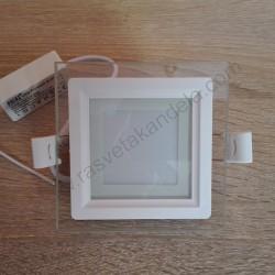 LED panel ugradni 6W MARIA 6 HL684LG 6400K beli stakleni