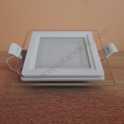 LED panel ugradni 6W MARIA 6 četvrtast HL684LG 3000K beli
