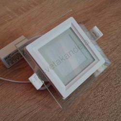 LED panel ugradni 6W MARIA 6 HL684LG 4200K beli stakleni