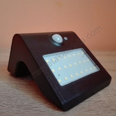 LED solarna lampa SIRIUS-1 1W 4000K sa PIR senzorom