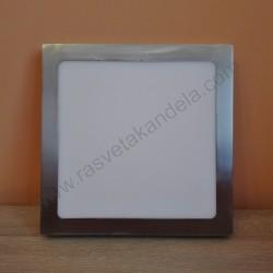 LED nadgradni panel 24W četvrtast M24NK-SN 6500K