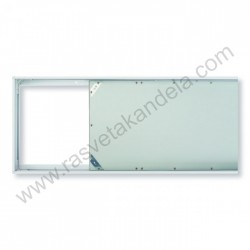Ram nadgradni za LED PANEL 1200x300 FRAME-30120