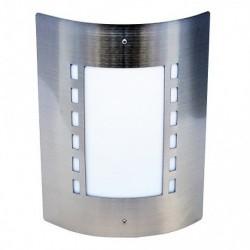 Baštenska zidna lampa 1xE27 M999 mat hrom