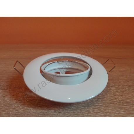Rozetna metalna - ugradna lampa MENEKSE HL752 bela