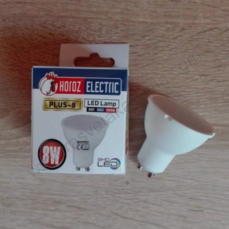 LED sijalica PLUS-8 GU10 8W 3000K