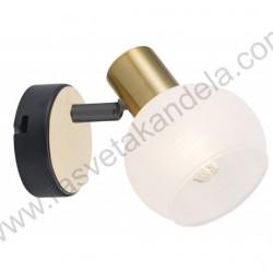 Spot lampa M131110 crno-zlatna