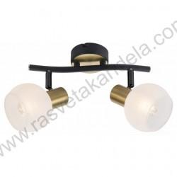 Spot lampa M131120 crno-zlatna