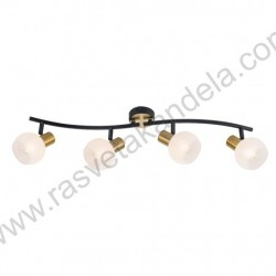 Spot lampa M131140 crno-zlatna