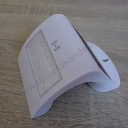 LED solarna zidna lampa M701095 2W 6500K sa radar senzorom