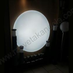 LED plafonjera fi 97cm sa daljinskim M205419 140W LED SMD 3000~6500K