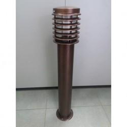 Baštenska stubna lampa HL298 PALMIYE 4 braon