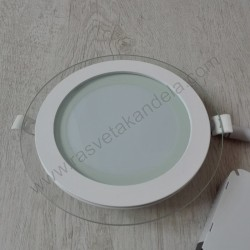 LED panel 12W okrugli MPC12 6500K stakleni
