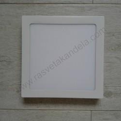 LED nadgradni panel 18W četvrtast M18NK 3000K