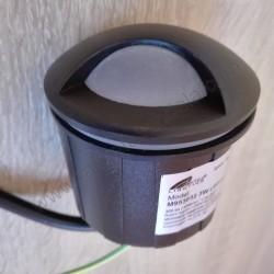 Spoljna ugradna LED lampa M953032 3W 4000K crna