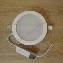 LED panel ugradni 12W okrugli beli HL688LG 6400K CLARA 12