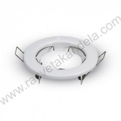 Rozetna - ugradna OT5070 bela metal