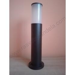 Baštenska stubna lampa 50 cm KAVAK-4 crna
