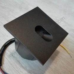 Spoljna ugradna LED lampa M953035 3W 4000K crna