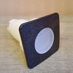 Spoljna ugradna lampa Fumagalli CECI 90 kvadratna crna