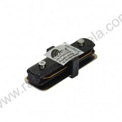 Konektor ravni za LED šinu Mitea crni