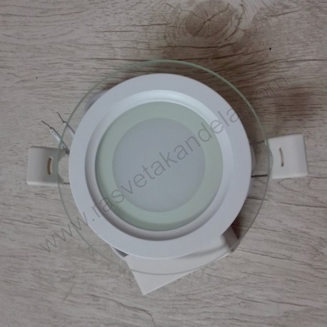 LED panel ugradni 6W CLARA 6 okrugli HL687LG 6400K beli