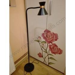 Podna lampa M150221 - crna/bakar