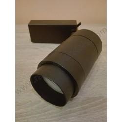LED šinska svetiljka 30W MONACO 4200K zoomable crna