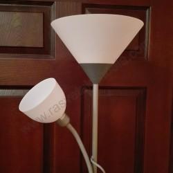 Podna lampa M66 MS bela
