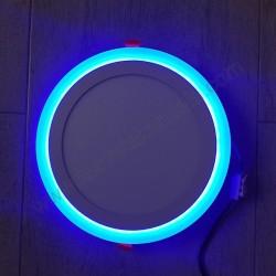 LED panel 18+6W okrugli M18UO-D plava+6500K